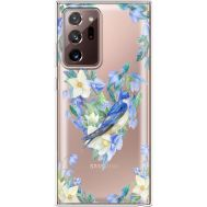 Силиконовый чехол BoxFace Samsung N985 Galaxy Note 20 Ultra Spring Bird (40574-cc96)