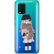 Силиконовый чехол BoxFace Xiaomi Mi 10 Lite Winter Morning Girl (39439-cc61)