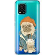 Силиконовый чехол BoxFace Xiaomi Mi 10 Lite Dog Coffeeman (39439-cc70)