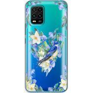 Силиконовый чехол BoxFace Xiaomi Mi 10 Lite Spring Bird (39439-cc96)