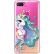 Силиконовый чехол BoxFace Xiaomi Mi 8 Lite Unicorn Queen (935667-rs3)