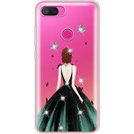 Силиконовый чехол BoxFace Xiaomi Mi 8 Lite Girl in the green dress (935667-rs13)