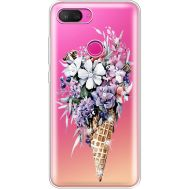 Силиконовый чехол BoxFace Xiaomi Mi 8 Lite Ice Cream Flowers (935667-rs17)
