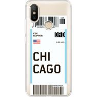 Силиконовый чехол BoxFace Xiaomi Mi 6X / A2 Ticket Chicago (34982-cc82)