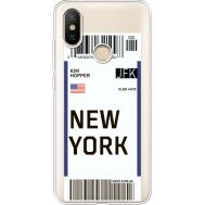 Силиконовый чехол BoxFace Xiaomi Mi 6X / A2 Ticket New York (34982-cc84)
