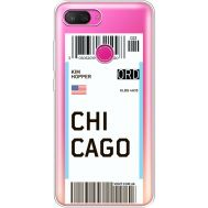 Силиконовый чехол BoxFace Xiaomi Mi 8 Lite Ticket Chicago (35667-cc82)