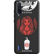 Силиконовый чехол BoxFace Xiaomi Mi 9 Lite RedWhite Coffee (38694-bk43)