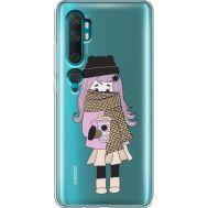 Силиконовый чехол BoxFace Xiaomi Mi Note 10 / Mi Note 10 Pro Winter Morning Girl (38538-cc61)