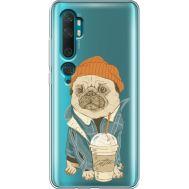 Силиконовый чехол BoxFace Xiaomi Mi Note 10 / Mi Note 10 Pro Dog Coffeeman (38538-cc70)