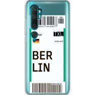 Силиконовый чехол BoxFace Xiaomi Mi Note 10 / Mi Note 10 Pro Ticket Berrlin (38538-cc80)