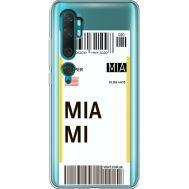 Силиконовый чехол BoxFace Xiaomi Mi Note 10 / Mi Note 10 Pro Ticket Miami (38538-cc81)