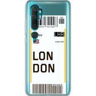 Силиконовый чехол BoxFace Xiaomi Mi Note 10 / Mi Note 10 Pro Ticket London (38538-cc83)