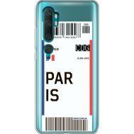 Силиконовый чехол BoxFace Xiaomi Mi Note 10 / Mi Note 10 Pro Ticket Paris (38538-cc86)