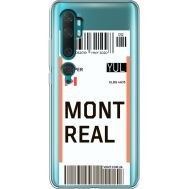 Силиконовый чехол BoxFace Xiaomi Mi Note 10 / Mi Note 10 Pro Ticket Monreal (38538-cc87)