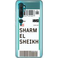Силиконовый чехол BoxFace Xiaomi Mi Note 10 / Mi Note 10 Pro Ticket Sharmel Sheikh (38538-cc90)