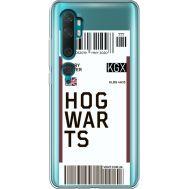 Силиконовый чехол BoxFace Xiaomi Mi Note 10 / Mi Note 10 Pro Ticket Hogwarts (38538-cc91)
