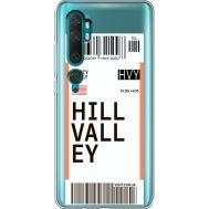 Силиконовый чехол BoxFace Xiaomi Mi Note 10 / Mi Note 10 Pro Ticket Hill Valley (38538-cc94)