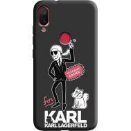 Силиконовый чехол BoxFace Xiaomi Mi Play For Karl (38662-bk38)