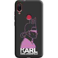 Силиконовый чехол BoxFace Xiaomi Mi Play Pink Karl (38662-bk40)