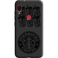 Силиконовый чехол BoxFace Xiaomi Mi Play Black Coffee (38662-bk41)