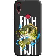 Силиконовый чехол BoxFace Xiaomi Mi Play Fish (38662-bk71)