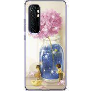 Силиконовый чехол BoxFace Xiaomi Mi Note 10 Lite Little Boy and Girl (939812-rs18)