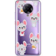 Силиконовый чехол BoxFace Xiaomi Poco F2 Pro с 3D-глазками Mouse (40089-cc76)