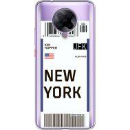 Силиконовый чехол BoxFace Xiaomi Poco F2 Pro Ticket New York (40089-cc84)