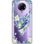 Силиконовый чехол BoxFace Xiaomi Poco F2 Pro Spring Bird (40089-cc96)