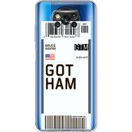 Силиконовый чехол BoxFace Xiaomi Poco X3 Gotham (41290-cc92)