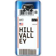 Силиконовый чехол BoxFace Xiaomi Poco X3 Hill Valley (41290-cc94)