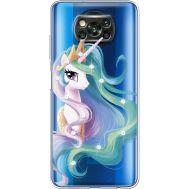 Силиконовый чехол BoxFace Xiaomi Poco X3 Unicorn Queen (941290-rs3)