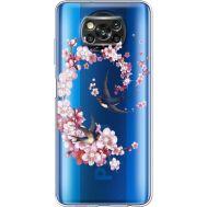 Силиконовый чехол BoxFace Xiaomi Poco X3 Swallows and Bloom (941290-rs4)