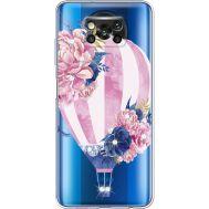 Силиконовый чехол BoxFace Xiaomi Poco X3 Pink Air Baloon (941290-rs6)