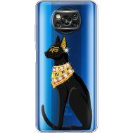 Силиконовый чехол BoxFace Xiaomi Poco X3 Egipet Cat (941290-rs8)