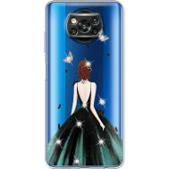 Силиконовый чехол BoxFace Xiaomi Poco X3 Girl in the green dress (941290-rs13)