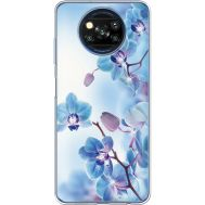 Силиконовый чехол BoxFace Xiaomi Poco X3 Orchids (941290-rs16)