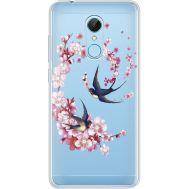 Силиконовый чехол BoxFace Xiaomi Redmi 5 Swallows and Bloom (935031-rs4)