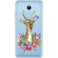 Силиконовый чехол BoxFace Xiaomi Redmi 5 Deer with flowers (935031-rs5)