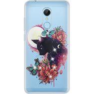 Силиконовый чехол BoxFace Xiaomi Redmi 5 Cat in Flowers (935031-rs10)