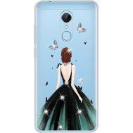 Силиконовый чехол BoxFace Xiaomi Redmi 5 Girl in the green dress (935031-rs13)