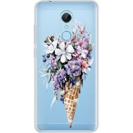 Силиконовый чехол BoxFace Xiaomi Redmi 5 Ice Cream Flowers (935031-rs17)