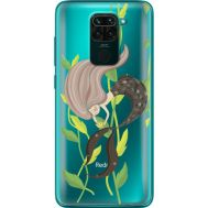 Силиконовый чехол BoxFace Xiaomi Redmi 10X Cute Mermaid (40367-cc62)