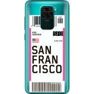 Силиконовый чехол BoxFace Xiaomi Redmi 10X Ticket  San Francisco (40367-cc79)