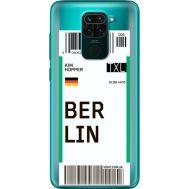 Силиконовый чехол BoxFace Xiaomi Redmi 10X Ticket Berrlin (40367-cc80)