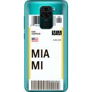 Силиконовый чехол BoxFace Xiaomi Redmi 10X Ticket Miami (40367-cc81)