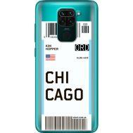 Силиконовый чехол BoxFace Xiaomi Redmi 10X Ticket Chicago (40367-cc82)