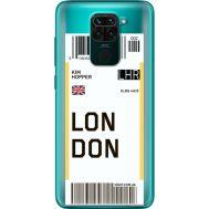 Силиконовый чехол BoxFace Xiaomi Redmi 10X Ticket London (40367-cc83)
