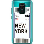 Силиконовый чехол BoxFace Xiaomi Redmi 10X Ticket New York (40367-cc84)