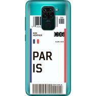 Силиконовый чехол BoxFace Xiaomi Redmi 10X Ticket Paris (40367-cc86)